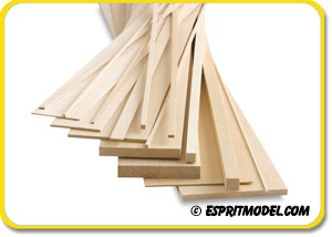 Balsa Stock Trailing Edge