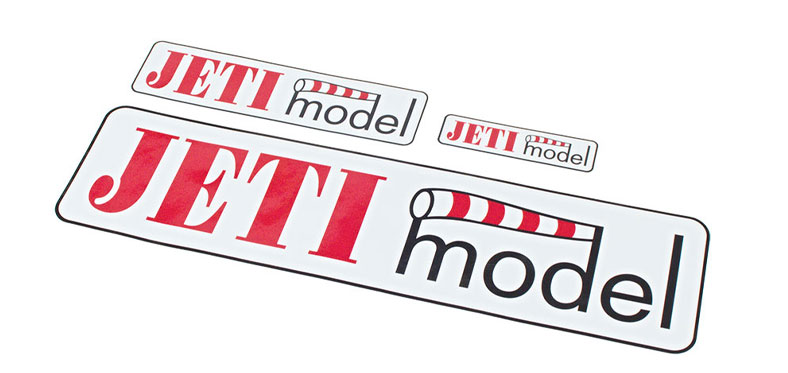 Decal Sheet Jeti Model 3/6/12 (75/150/305mm)
