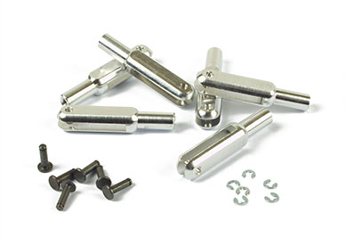 Clevis Threaded MP Jet Aluminum