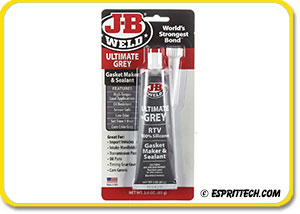 J-B Weld Silicone Sealant & Gasket Maker Ultimate Grey