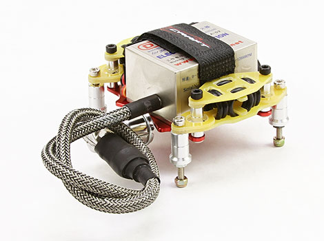 Ignition Tray Holder Aluminum V2 w/Anti-Vibration Mount Hard