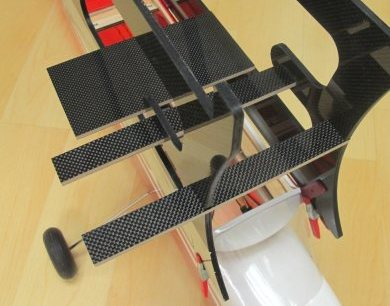 Sailplane Launching Platform Carbon