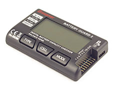 Graupner Guard 2 Battery Monitor/Voltmeter (Li-Poly/Li-Fe/Li-Ion/NiMH/NiCd)