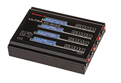 Graupner Ultra DC Quad Multi Charger w/Balancer (6S/80W x4)
