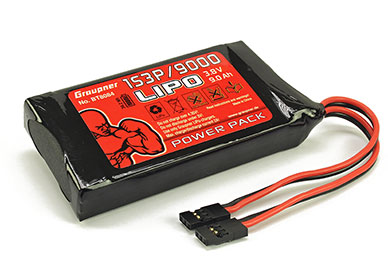Transmitter Battery Pack 9000mAh 3.8V Li-Poly (MZ-32)