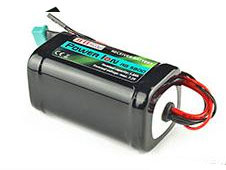 Jeti Receiver Battery Pack 5800mAh 7.2V Li-Ion Power RB