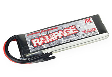Thunder Power Rampage 1300mAh 70C Li-Poly Battery Packs