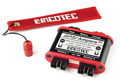 Emcotec DPSI Ampere Dual Redundant Switch with Magnetic Key