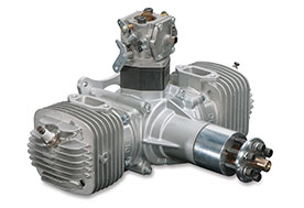 DLE-120cc Twin Gasoline Engine