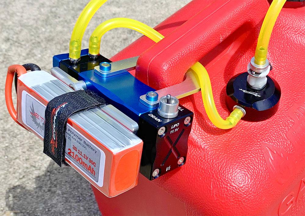 Fuel Pump Electric SE V2 Gas/Diesel/Jet/Nitro (Red, Blue)