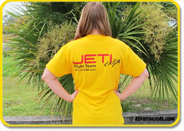 T-Shirt Yellow Jeti USA Model