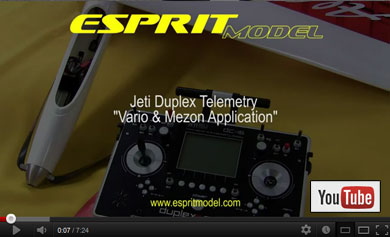 Jeti Telemetry Video