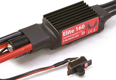 Esprit Elite 160SB 8S/5A Brushless ESC
