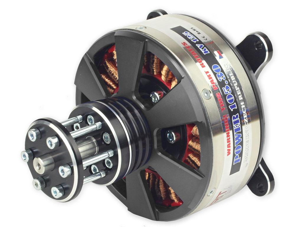 Esprit Elite 200cc E105/30-125 3D HD Outrunner Brushless