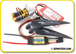 Power Package Sailplane AXi 1.5-2m (3S, 225W)