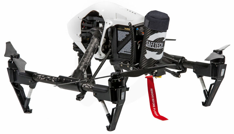 Drone Parachute Rescue System Universal Mount ST60-X DJI Inspire 1