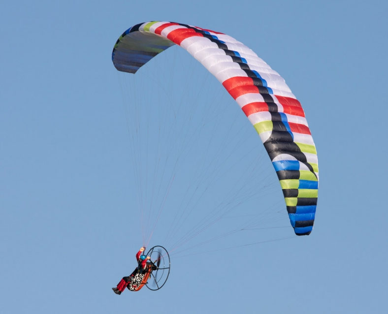 Paraglider Pilot Tom with Harness ARTF