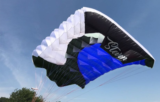 Opale Skydiver Parachute Wing (Blue)