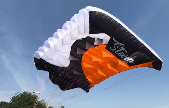 Opale Skydiver Parachute Wing (Orange)
