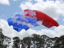 Opale Skydiver Parachute Wing (Stars & Stripes)