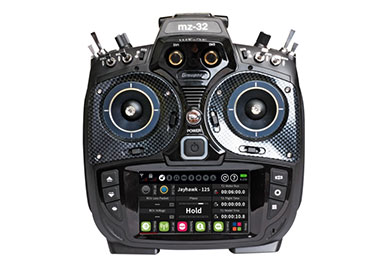 Graupner HoTT MZ-32 Radio Faceplate Set (Carbon)