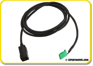 Futaba S.Bus Hub with Cable for Remote Battery