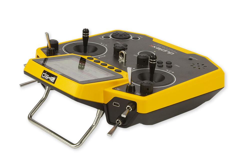 Jeti Duplex DS 12 Yellow 24GHz 900MHz W Telemetry Transmitter Only Radio