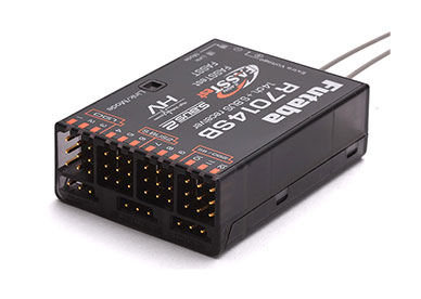 Futaba R7014SB FASSTest 2.4GHz Serial Bus Receiver (S.Bus2) High Voltage