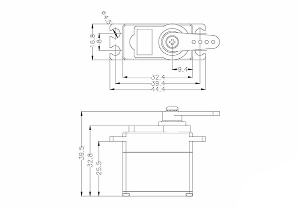 Hitec HS-5245MG Mini Digital Servo