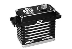 MKS HV9930 XJ Ultra Torque High Resolution Coreless 8.2V Digital Servo