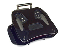 Jeti Transmitter Tray DS-24 Lite Black w/Brackets
