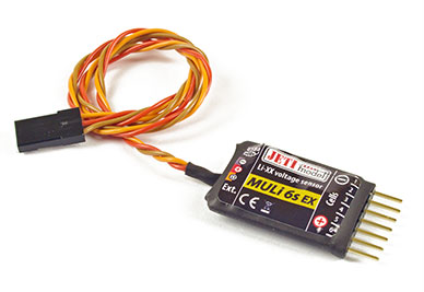 Jeti Telemetry Sensor Li-Poly Battery MULi6s EX