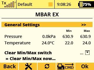 Jeti Telemetry Sensor Air Pressure MBar EX & Expander