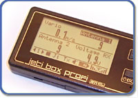 Jeti Telemetry JetiBox Profi Monitor/Programmer w/Rsat 2.4GHz Remote Receiver