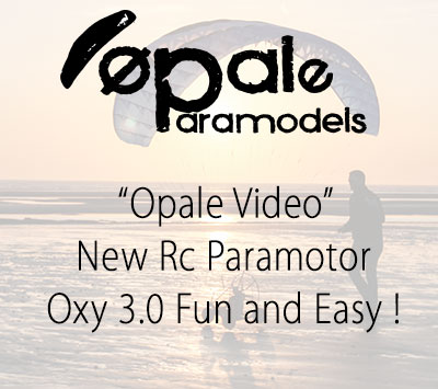 New Rc Paramotor - Oxy 3.0 Fun and Easy !