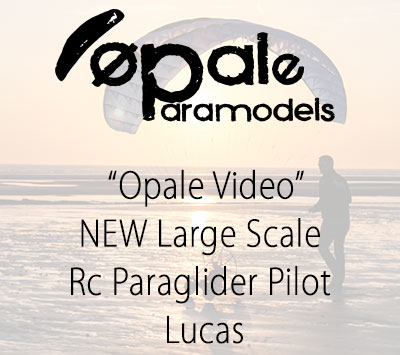 NEW Large Scale Rc Paraglider Pilot - Lucas