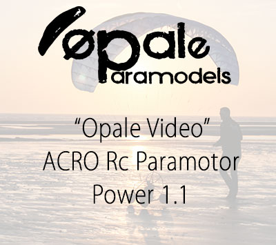 ACRO Rc Paramotor - Power 1.1