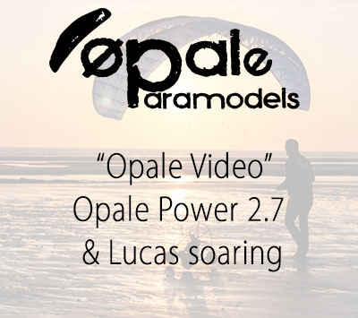Opale Power 2.7 & Lucas soaring