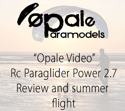 Rc Paraglider Power 2.7 - Review and summer flight