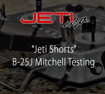 B-25J Mitchell Testing