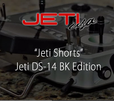 Jeti DS-14 BK Edition