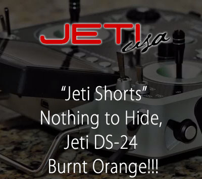 Nothing to Hide, Jeti DS-24 Burnt Orange (That's What Quality Looks Like)!!!