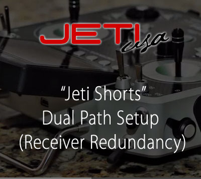 Dual Path Setup (Receiver Redundancy)