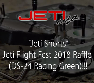 Jeti Flight Fest 2018 Raffle (DS-24 Racing Green)!!!