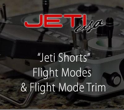Flight Modes & Flight Mode Trim
