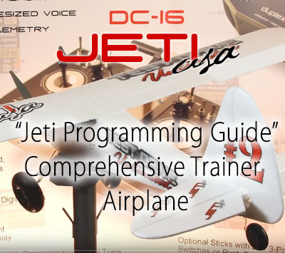 Comprehensive Trainer Airplane