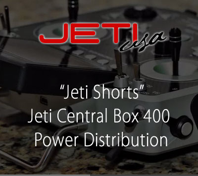 Jeti Central Box 400 Power Distribution