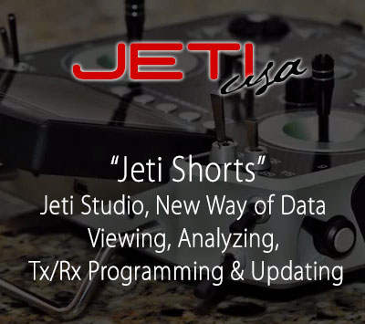 Jeti Studio, New Way of Data Viewing, Analyzing, Tx/Rx Programming & Updating