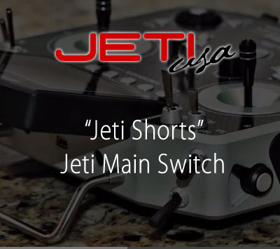 Jeti Main Switch