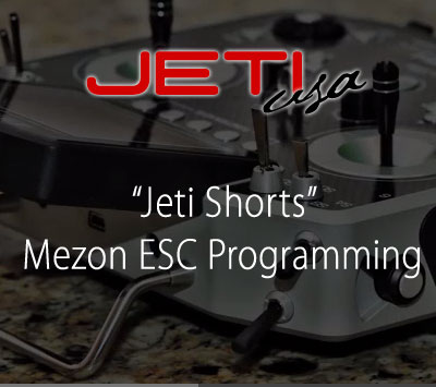 Mezon ESC Programming